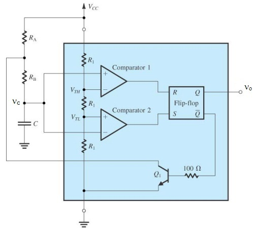 theoryfig 1 astable multivibrator circuit diagram